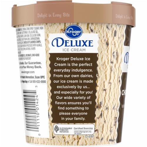 Kroger® Deluxe Chocolate Chip Ice Cream Perspective: left