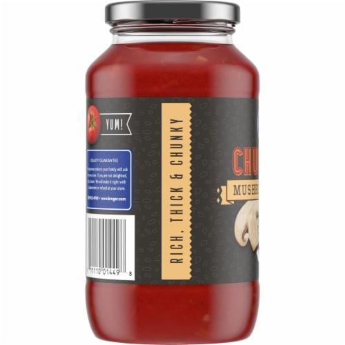 Kroger® Chunky Mushroom & Onion Pasta Sauce Perspective: left