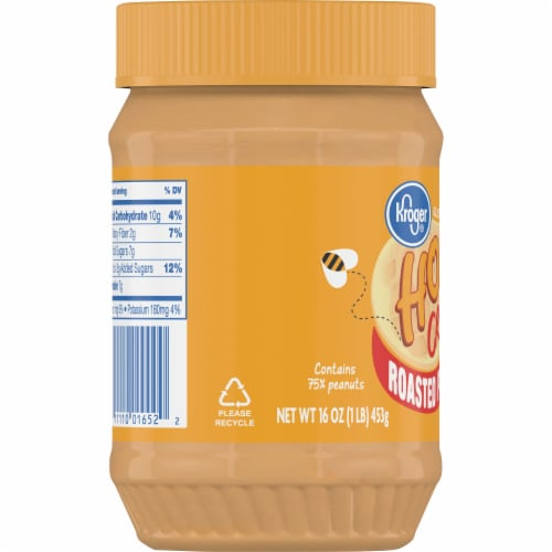 Kroger® Honey Creamy Roasted Peanut Spread Perspective: left