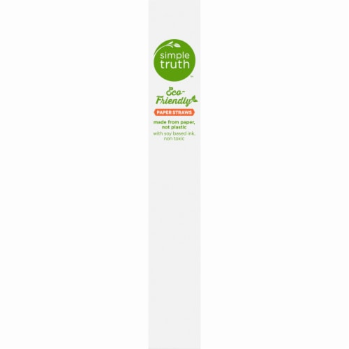 Simple Truth™ Eco Friendly Paper Straws Perspective: left