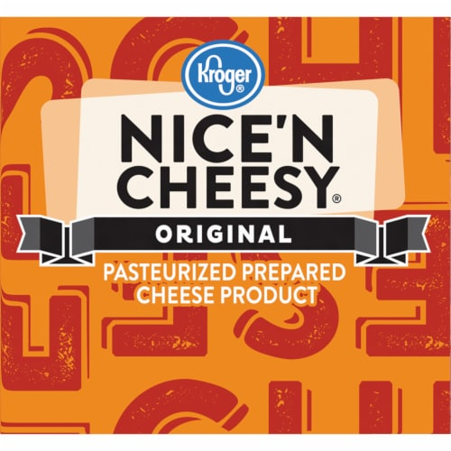 Kroger® Original Nice 'N Cheesy Pasteurized Prepared Cheese Product Perspective: left