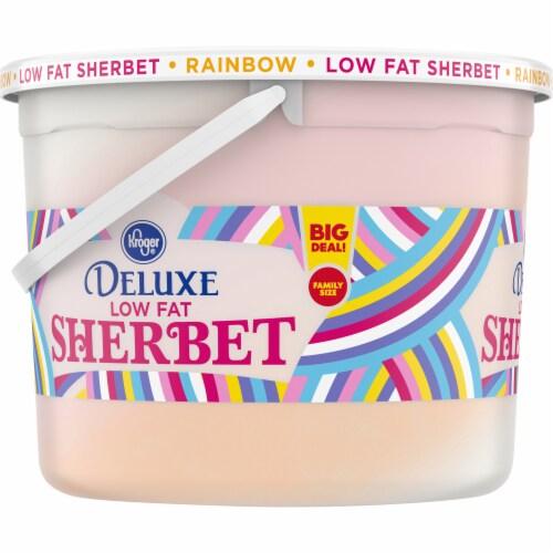 Kroger® Rainbow Sherbet Party Pail Perspective: left