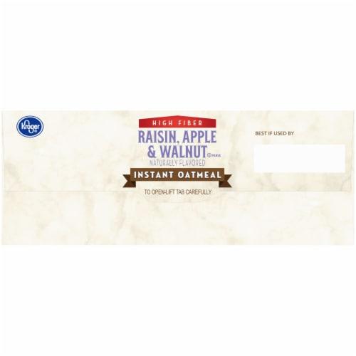 Kroger® Raisin Apple & Walnut Instant Oatmeal 8 ct Perspective: left