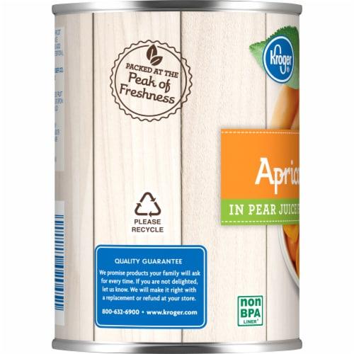 Kroger® Apricot Halves in Pear Juice Perspective: left