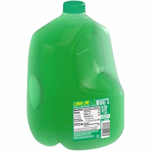 What's Sip? Lemon Lime Flavored Beverage Perspective: left
