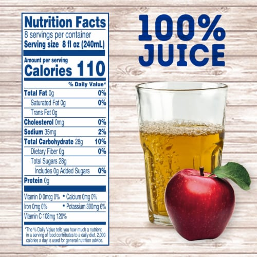 Kroger® Unfiltered 100% Apple Juice Perspective: left