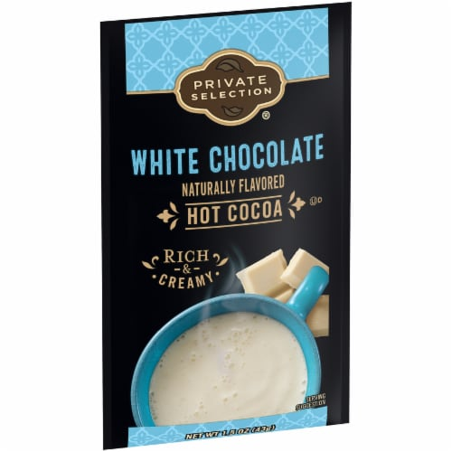 Private Selection® White Chocolate Hot Cocoa Mix Perspective: left