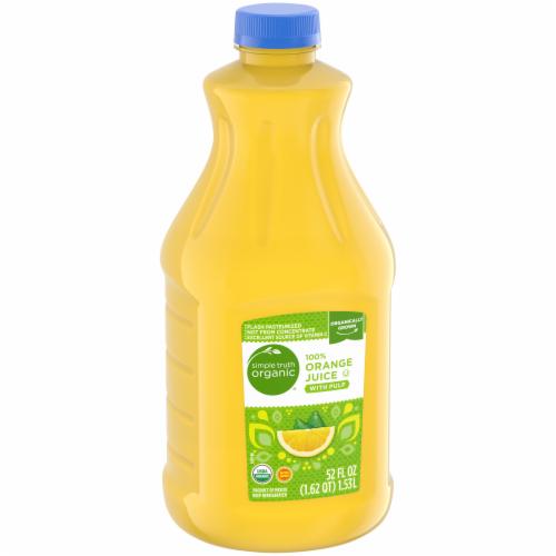 Simple Truth Organic® 100% Orange Juice with Pulp Perspective: left