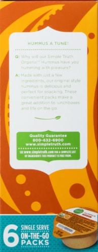 Simple Truth Organic™ Original Hummus 6-2.1 oz Packs Perspective: left
