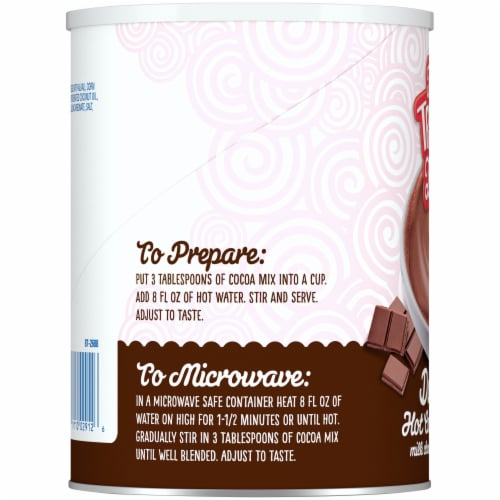 The Treat Life Dutch Hot Cocoa Mix Perspective: left