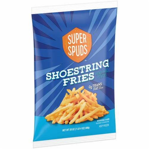 Super Spuds Shoestring Fries Perspective: left