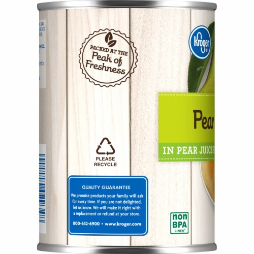Kroger® Pear Halves in Pear Juice Perspective: left