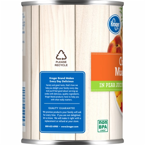 Kroger®  Chunky Mixed Fruit in Pear Juice Perspective: left