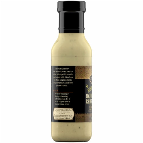Private Selection® Hatch Green Chile Crema Medium Wing Sauce Perspective: left
