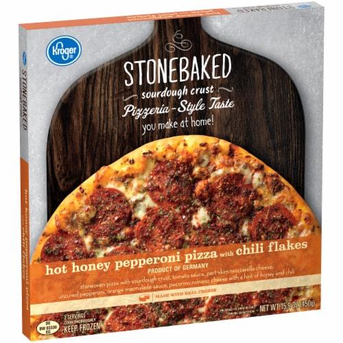 Kroger® Hot Honey Pepperoni Pizza Perspective: left