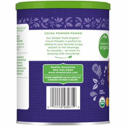 Simple Truth Organic™ Unsweetened Dutched Cocoa Powder Perspective: left