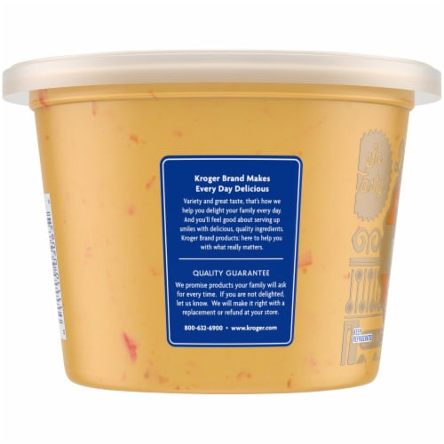 Kroger®  Pimento Cheese Spread Tub Perspective: left