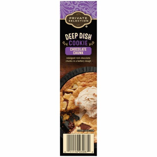 Private Selection® Deep Dish Chocolate Chunk Cookie Perspective: left