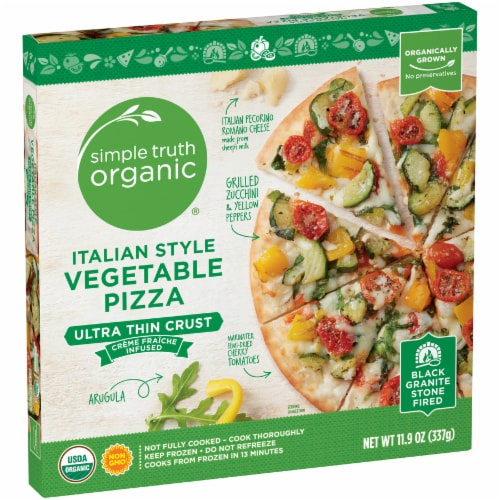 Simple Truth Organic™ Italian Style Vegetable Pizza Perspective: left