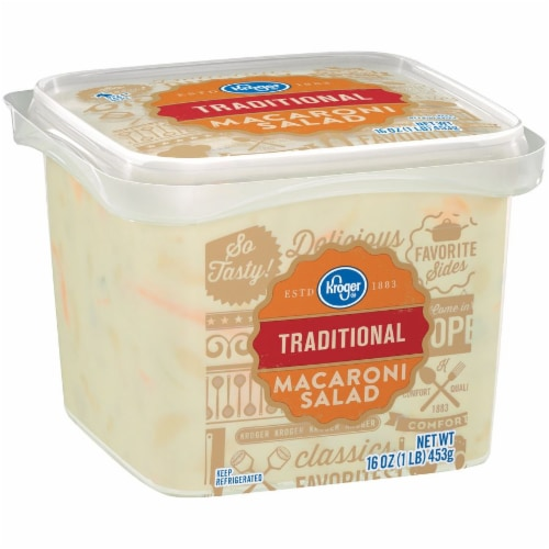 Kroger® Traditional Macaroni Salad Perspective: left