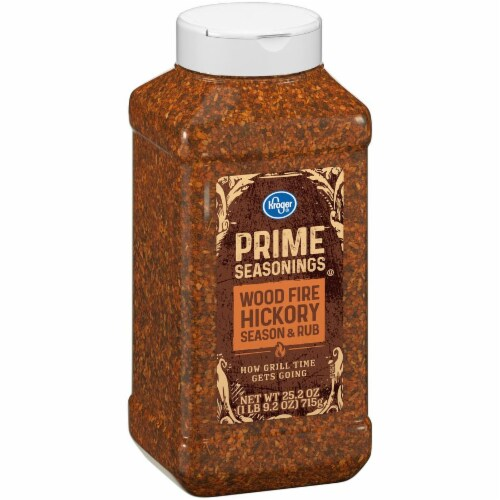 Kroger® Prime Seasonings Wood Fire Hickory Season & Rub Perspective: left
