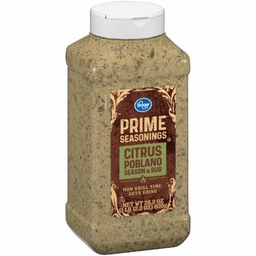 Kroger® Prime Seasonings Citrus Poblano Season & Rub Perspective: left