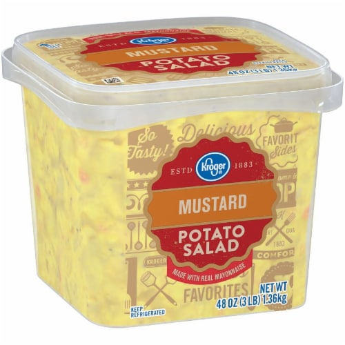 Kroger® Mustard Potato Salad Perspective: left