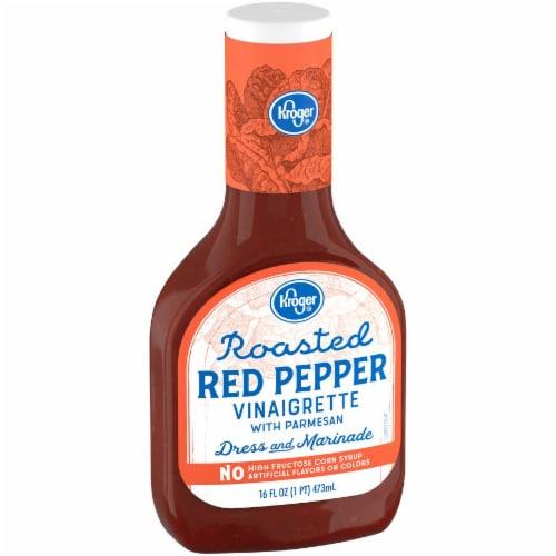 Kroger® Roasted Red Pepper Vinaigrette Perspective: left