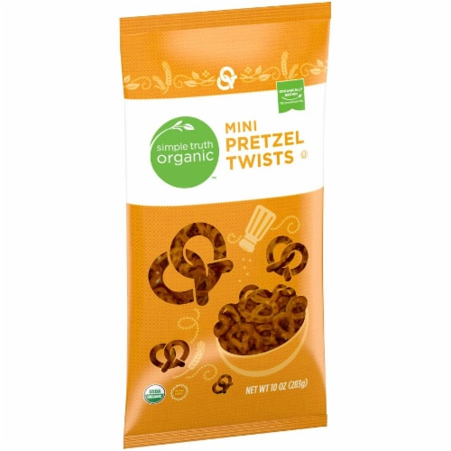 Simple Truth Organic™ Mini Pretzel Twists Perspective: left