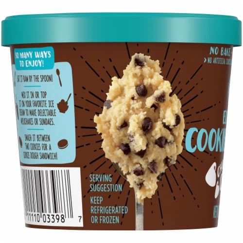Kroger® Edible Chocolate Chip Cookie Dough Perspective: left