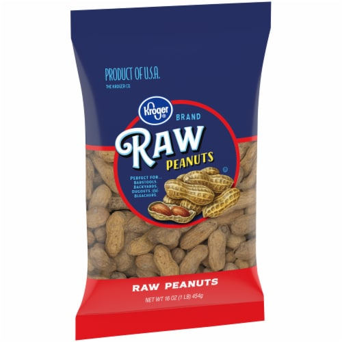 Kroger® Raw Peanuts Perspective: left