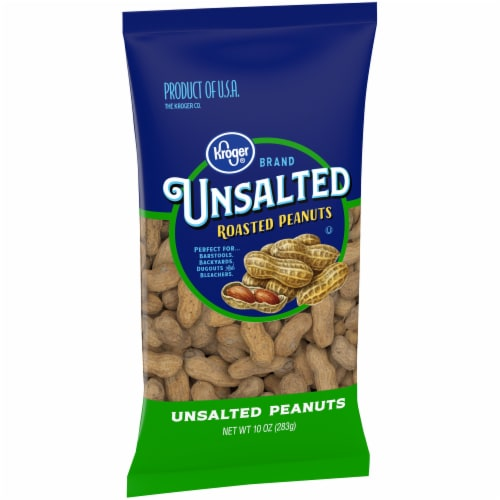 Kroger® Unsalted In-Shell Peanuts Perspective: left