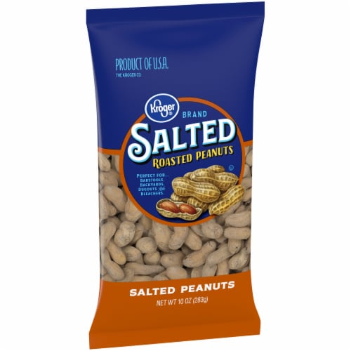 Kroger® Salted In-Shell Peanuts Perspective: left