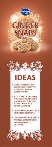 Kroger® Ginger Snaps Cookies Perspective: left