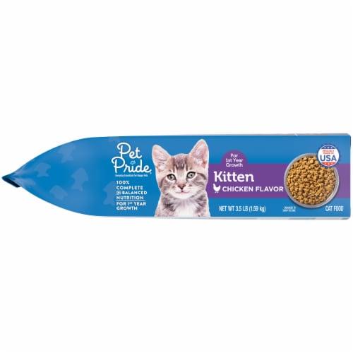 Pet Pride™ Chicken Flavor Dry Kitten Food Perspective: left