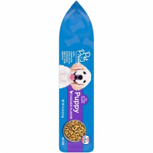 Pet Pride® Chicken Flavor Puppy Food Perspective: left