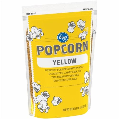 Kroger® Yellow Popcorn Kernels Perspective: left