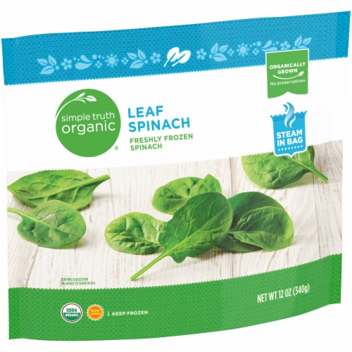 Simple Truth Organic® Frozen Leaf Spinach Perspective: left