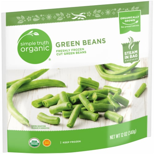 Simple Truth Organic® Freshly Frozen Cut Green Beans Perspective: left