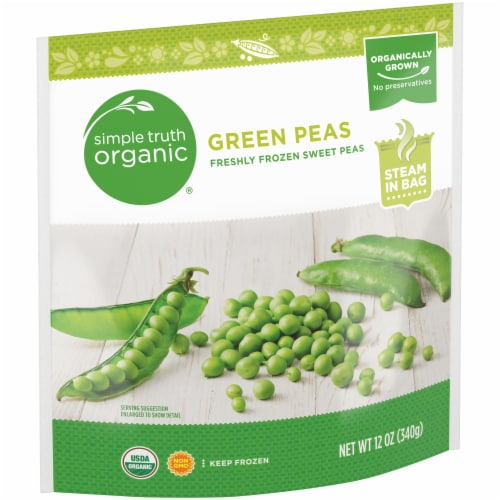 Simple Truth Organic® Freshly Frozen Sweet Peas Perspective: left