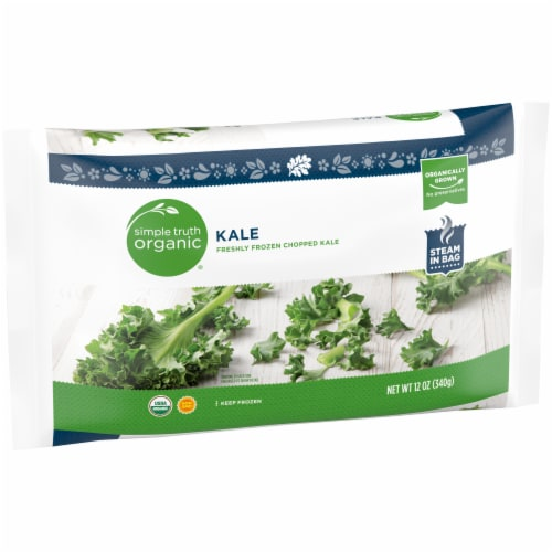 Simple Truth Organic™ Chopped Kale Perspective: left