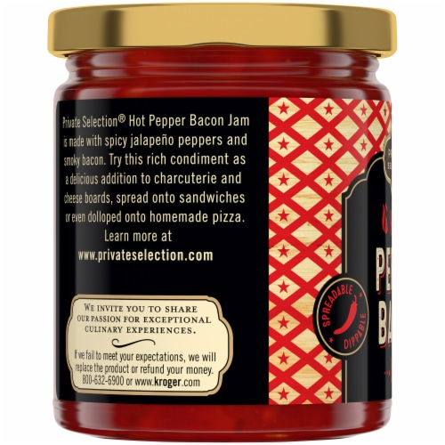Private Selection® Hot Pepper Bacon Jam Perspective: left