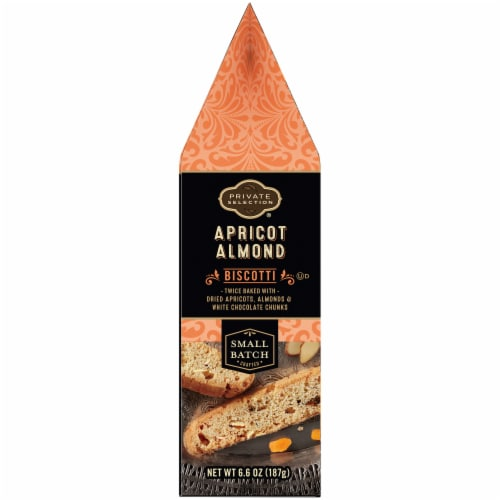 Private Selection® Apricot Almond Biscotti Cookies Perspective: left