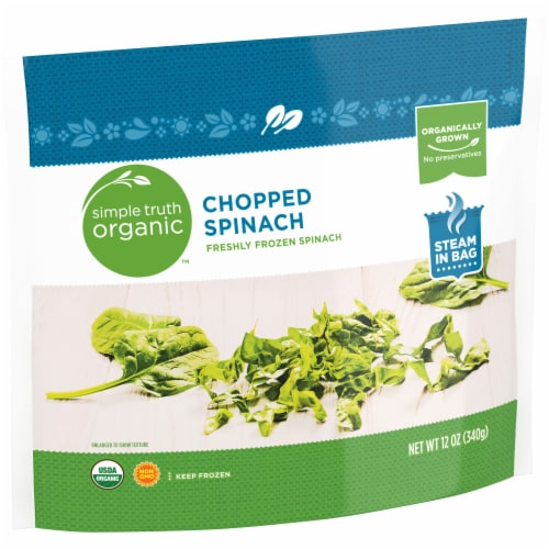 Simple Truth Organic™ Chopped Spinach Perspective: left