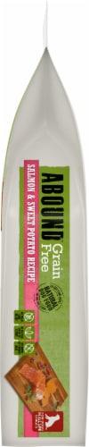 Abound® Grain Free Salmon & Sweet Potato Recipe Adult Dog Food Perspective: left