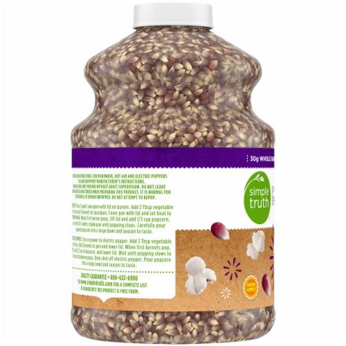 Simple Truth™ 100% Whole Grain Purple Popcorn Jar Perspective: left