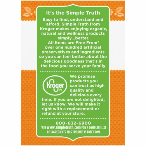 Simple Truth Organic® Unrefined Virgin Coconut Oil Perspective: left
