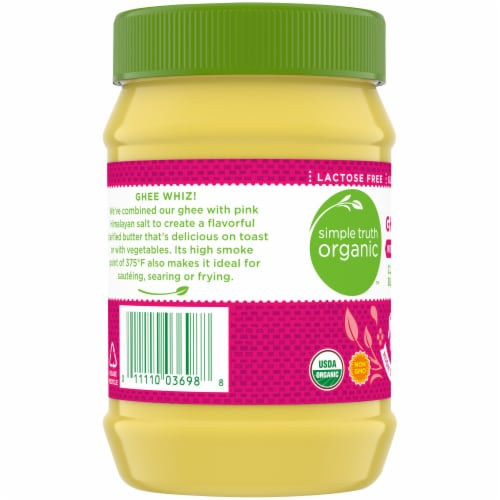 Simple Truth Organic™ Ghee with Pink Himalayan Salt Perspective: left