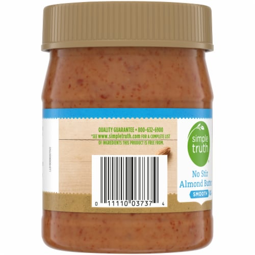 Simple Truth® Smooth No Stir Almond Butter Perspective: left