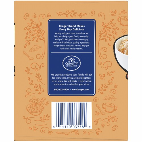 Kroger® Oatmeal Apple Sauce Pouch Variety Pack Perspective: left